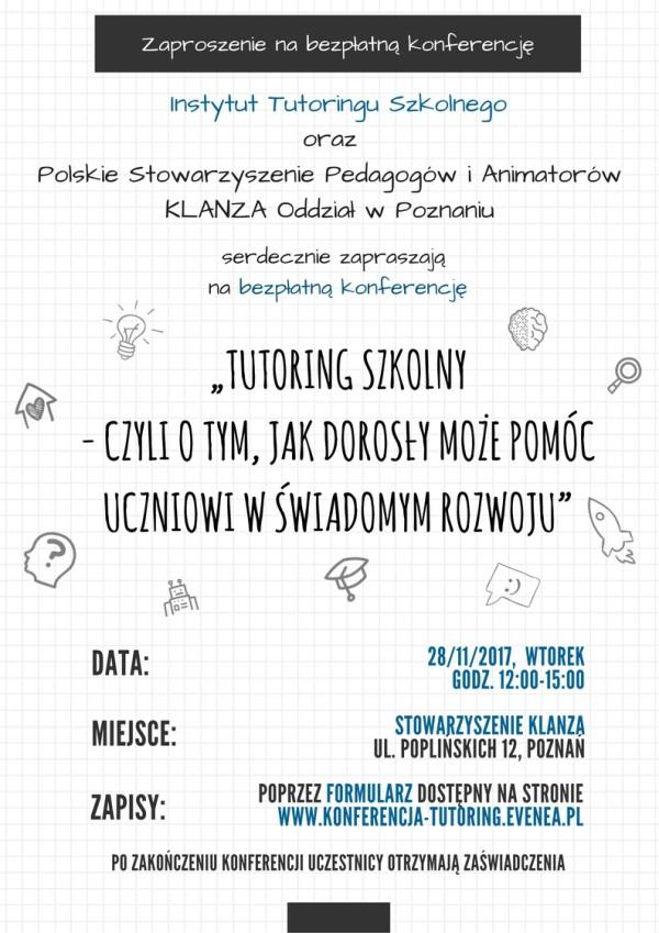 konferencja tutoring 2017 a